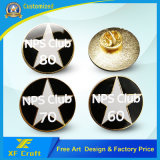 Lowest Price Custom Metal Enamel Badge for Promotion Gift (XF-BG05)