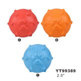 Hot Selling Assorted Color Ball Shape Dog Toy (YT99389)
