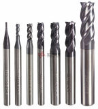 Single 2 3 4 6 8 Flutes Down up Cut Ball Nose Flat Radius Carbide End Mills Milling Cutter for PCB Metal Processing