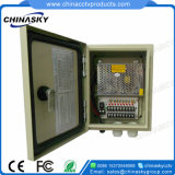 DC12V 10A 9channel Water Proof CCTV Backup Power Supply (12VDC10A9PW)