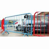Powder-Coated Standing Interlocking Security Steel Crowd Car Parking Traffic Pedestrian Barriers