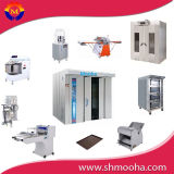 Commecial Bakery Rotary Rack Convection Bread Baking Oven Equipment (complete bakery production line supplied)