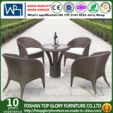Patio Garden Aluminum PE Outdoor Rattan Dining Chair Set (TG-1659)