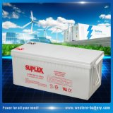 12V/200ah VRLA/AGM/Gel Deep-Cycle Lead-Acid Mf SLA Industrial-Energy-Storage UPS/Backup Solar-Panel-Power-Battery
