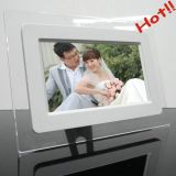 7 Inch Option Mini LCD Electronic Digital Photo Frame with Rechargeable Battery