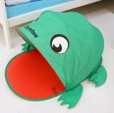 Cartoon Frog Shaped Folding Pop up Indoor Baby Kids Tent