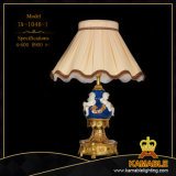European Style Angle Brass Ceramic Table Lamps (TA-1046-1)