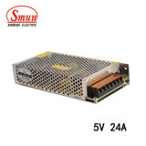 Smun S-120-5 120W 5VDC 24A AC-DC IP20 Power Supply