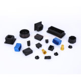 Plastic Molding Profile End Plugs, Square Tubing Pipes Caps, Plastic End Caps for Steel Tube