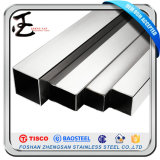 Welded Round Square Stainless Steel Pipe 201 202 304