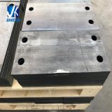 Custom Sheet Metal Fabricated Slotted Base Plate 250*150*16mm