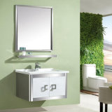 Cheap Stainless Steel Bathroom Cabinet Vanity Home Decor Hotel Furniture