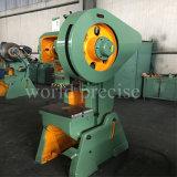 Machine Tool J23 Sheet Metal Stamping Machine 125 Ton Mechanical Power Press Punching Machine