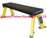 body building, fitness, hammer strength, gym machine, Flat Bench (HS-4001)