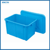 Nestable Plastic Box with Lid