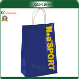 Blue Printing Custom Design Advertising Sports Paper Bag