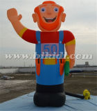 Outdoor Large Inflatable Old Men Models for Event, Advertising Giant Holland Cartoons for Sale