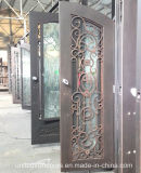 High Quality Double Wrought Iron Door From China (UID-D035)