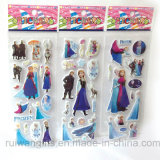 Wholesale Cartoon Frozen Bubble Sticker, Puffy Sticker
