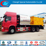 HOWO 6X4 200HP Rubber Asphalt Layer Truck