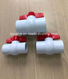 BS Threaded PVC Ball Valve New Material High Quality!