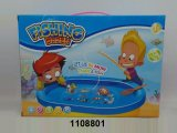 Promotion Gift Plastic Toys B/O Fishing Family Game (1108801)