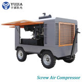 Wholesale Direct Driven Portable Diesel Rotary Screw Air Compressor