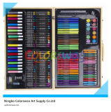 180PCS Drawing Art Set in Wooden Box for Kids and Students