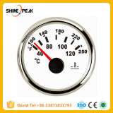 1PC Brand New 52mm Water Temp Gauges 9-32V Water Temperature Meters with Sensor for Auto Ships Agricultural Machinery Engines