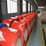 Factory Prepainted Galvalume Steel Coil PPGL Cheap Price Aluminum-Zinc Coated