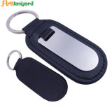 Promotional Fashion Metal Leather Keychain