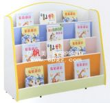 Kindergarten Furniture Kids Library Bookshelf Wooden Modern Library Bookcase