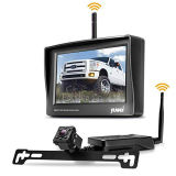 """Car Rear View Mini Reversing Camera with Wireless Transmitter and 4.3"""" LED Monitor"""