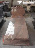Custom Design Popular Granite Tombstone for Poland Style