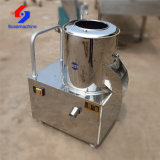 Commercial Use 120-250kg/H Automatic Electric Potato Peeler Peeling and Cutting Machine
