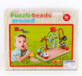 Kids Beads Learning Game Wooden Math Toys for Wholesale