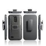 TPU PC Phone Cover for LG X Power 3 Holster Combo Shell Case