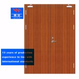 Flush Fireproof Solid Wood Double Fire-Rated Doors for Hospital (FD-VN-02)
