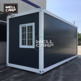 2020 20FT Expandable Prefab Modular Flat Pack Container House for Labor Camp Accommodation