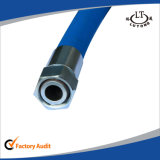 High Temperature Hydraulic Assembly Rubber Hose Carbon Steel Flexible Hydraulic Hose