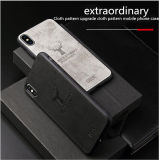 The 2019 New Apply to The iPhone 6s 7 8plus Apple Xs Max Xr Elkmobile Phone Accessory Phone Case Cover Mobile Phone Cases Cloth Paste Leather Mobile Phone Case
