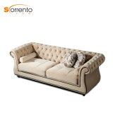 Luxury Classical European Sofa Set Pictures of Wooden Leg Sofa