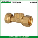 Excellent Quality Chrome Plated Dn20 Brass Ball Valve Brass Body Female Straight