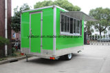 Green Color Food Truck for Sale USA