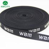 25mm Polyester High Quality Custom Logo Jacquard Underwear Elastic Tape