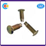 Carbon Steel 4.8/8.8/10.9 Fasteners Non-Standard Rivet/Pin Customized Truss Head Screw