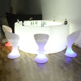 Illuminated Cocktail Table LED Light Bar Table for Event Party Club for Sale