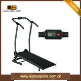 Home Use Fitness Manual Single Flat Jogger Treadmill