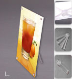 Acrylic Tube Mini Tabletop X Display Banner Stand (DY-X5)