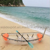 Wholesale China Double Seat Clear Transparent Canoe Kayak with Price